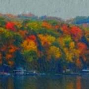 Cayuga Autumn Art Print
