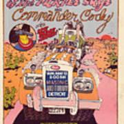 Cc With Riders Art Print