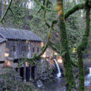 Cedar Creek Grist Mill Art Print