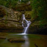 Cedar Falls 2 - Hocking Hills Ohio Waterfall Art Print