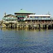 Cedar Key Waterfront Art Print