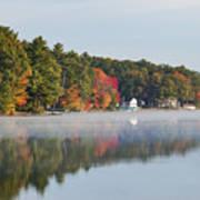 Cedar Lake Reflection Art Print