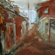 Ceder Town Art Print