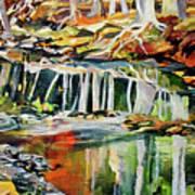 Ceeekbed, Fall Colors 4 Art Print