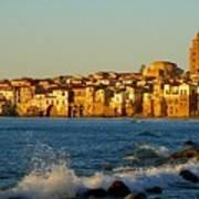 Cefalu - Sicily Print by Sorin Ghencea