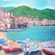 Cefalu In Sicily Art Print