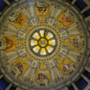 Ceiling Of The Berlin Cathedral Art Print