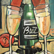 Celebrate With Bubbly Art Print