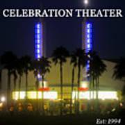 Celebration Movie Theater 1994 Art Print