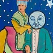 Celestial Couple Art Print