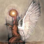 Celestial Glory Art Print