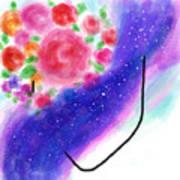 Celestial Her Art Print