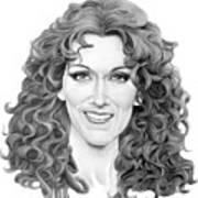 Celine Dion Art Print
