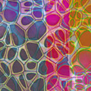 Cell Abstract 11 Art Print