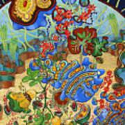 Cell Garden Art Print