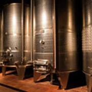 Modern Wine Cellar  Art Print