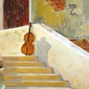 Cello No 3 Art Print