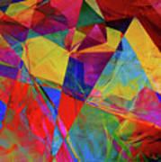 Cellophane Geometry Art Print