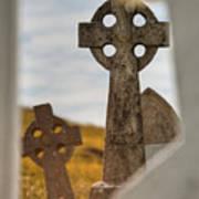 Celtic Crosses Art Print