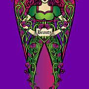 Celtic Forest Fairy - Beauty Art Print