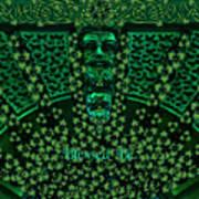 Celtic Green Man Art Print