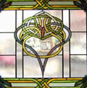Celtic Heart Art Print by Jane Croteau