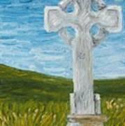 Celtic High Cross Art Print