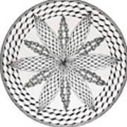 Celtic Knot Mandala Art Print