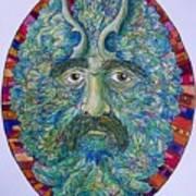 Celtic Man Art Print