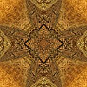 Celtic Mandala Abstract Art Print