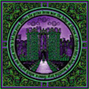 Celtic Sleeping Beauty Part IIi The Journey Art Print