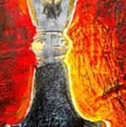Celtic Sword Handel Art Print