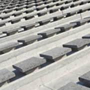 Cement Seats Art Print