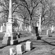 Cemetery 3 Art Print