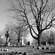Cemetery 5 Art Print