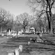 Cemetery 7 Art Print