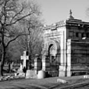 Cemetery 8 Art Print