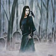 Cemetery Chic Art Print