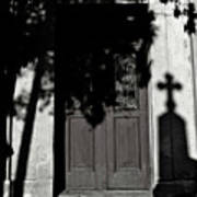 Cemetery Shadow Art Print