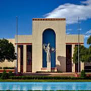 Centennial Hall At Fair Park - Dallas Art Print