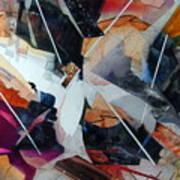 Centerfold I Art Print