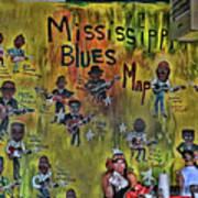 Central B B Q # 3- Memphis Art Print