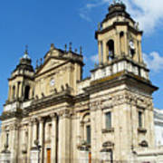 Central Church Guatemala City 1 Art Print