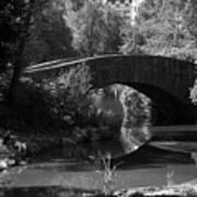 Central Park Bridge Art Print