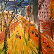 Central Park East Art Print
