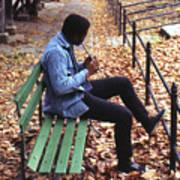 Central Park Musician Art Print