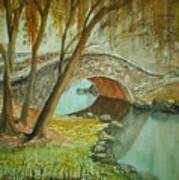 Central Park Overpass Art Print