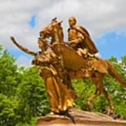 Central Park Sculpture-general Sherman Art Print