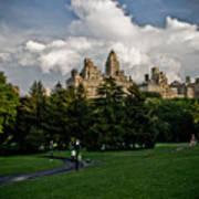 Central Park Skies Art Print