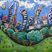 Central Park South Art Print